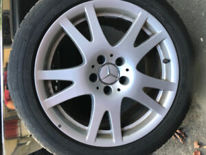 17 Inch Mercedes Low Profile Tires and Rims