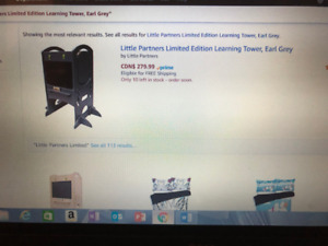 Little Partners Limited Edition Learning Tower, Earl Grey$188