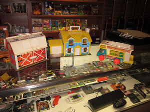 Various Vintage FISHER PRICE Toys For Sale