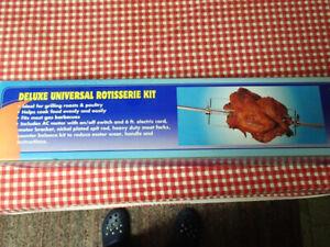 BBQ Rotisserie Kit