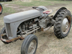 1953 T20 Ferguson Tractor made in England