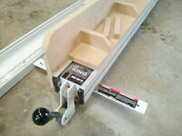 King table saw fence system