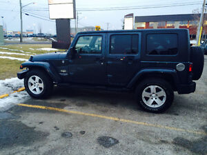 2008 Jeep Wrangler Saraha unlimited need to sell!