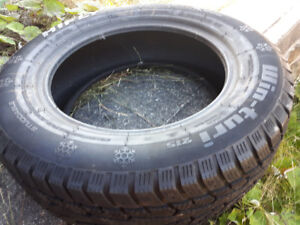 two different brands of 195/65r15 winter tires for sale
