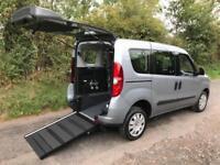 2013 Fiat Doblo 1.4 16V MyLife 5dr WHEELCHAIR ACCESSIBLE VEHICLE 5 door Wheel...