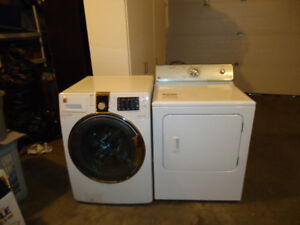 Steam New Washer and Dryer for sale in Stony Plain, AB