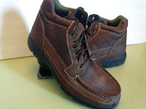 Rockport Brown Leather Hiking Boots Size 13