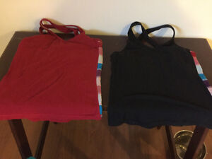 Two Lululemon workout tops, Two One Tooth workout tops