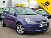2008 FORD FIESTA 1.2 ZETEC CLIMATE 16V 78 BHP+2 OWNERS+AIR-CON+AUX PORT+ALLOYS!