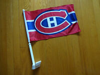Montreal Canadians Car flag and Finger Foam
