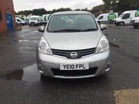 Nissan note 2010 diesel good condition 1.5 manual low malige