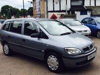 Vauxhall zafira 2.0 diesel full service history 12 months mot