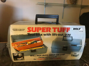 SUPER TUFF TOOL BOX !!! BRAND NEW !!!