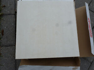 Porcelain floor/wall Tile Lt. Cream  $35   Midland & Sheppard