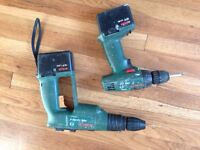 Battery drills Bosch