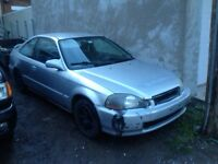 Civic couper 1998