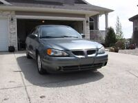 2005 Pontiac Grand Am 4 Door Sedan Car