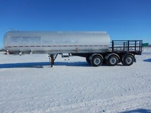 Aluminum & Stainless Steel Tanker Trailers For Sale