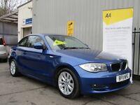 BMW 1 SERIES 2.0 118d SE (blue) 2011