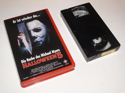 VHS Video ~ Halloween 5 ~ Large Case Ex-Rental ~ *German Release* ()