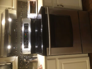 LG Glass Top Convection Oven