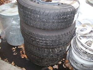 SNOW TIRES ,205\60\15 EXELLENT CONDITION