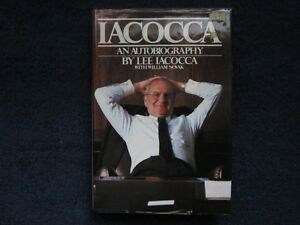 Iacocca An Autobiograpy Hardcover Book Kitchener / Waterloo Kitchener Area image 1