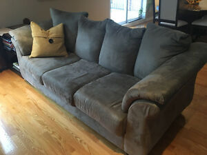 Microsuede Sofas **great condition**
