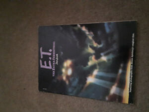 E.T the extraterrestrial  soft cover book