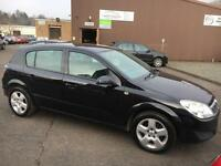 5707 Vauxhall Astra 1.4i 16v Club Black 5 Door MOT 12m