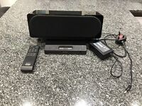 Sony iPod docking station with remote