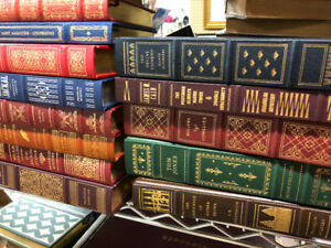 Piles of old books including early 1900's kids books