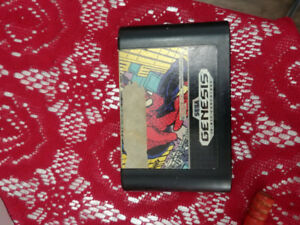 Spiderman Sega Genesis Game