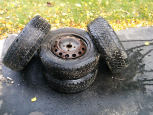 Winter tires with rims for sale
