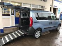 2015 Fiat Doblo 1.4 16V Pop 5dr WHEELCHAIR ACCESSIBLE VEHICLE 5 door Wheelcha...
