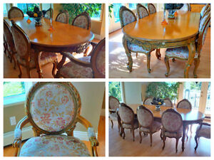 Formal dining room set - Provincial Type