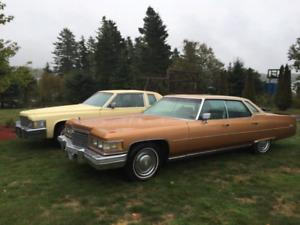 1976 Cadillac sedan deVille d'Elegance