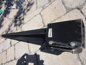 4x4 metal deck/fence post anchor