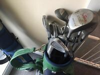 Set of Lowson Golf Clubs, hardly used
