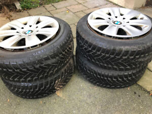 BMW mags and winter tires 205/55R16