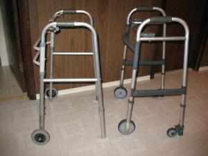 2 Aluminum Walkers