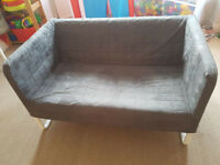 2-seat sofa IKEA - grey