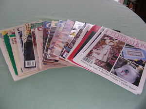 NEW PRICE   17 Cross Stitch Magazines