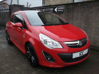 "11 61 VAUXHALL CORSA 1.2 16V LIMITED EDITION 3DR VXR BODYKIT 17"" BLACK ALLOYS AC"