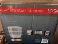 Logik food steamer New in box