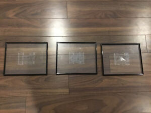3 Picture Frames Floating 8X10