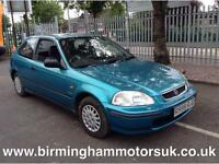 1997 Honda Civic 1.4 Tornado Limited Edition 3dr