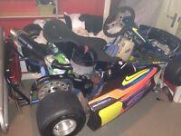 Kx ktm cr rm yz / go kart 100 cc gillerd