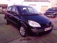 RENAULT SCENIC 1.6 VVT 2008 / 81K MILES / 1 OWNER / 12 MONTHS M.O.T