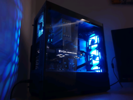 "☆ i7 6700K 8GB RAM EVGA 1070 Full RGB Gaming PC ☆ AOC 24"" 144hz ☆"
